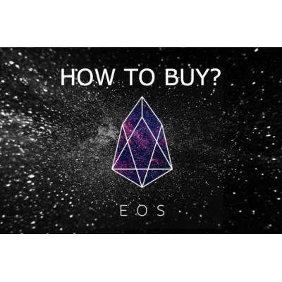 خرید، فروش و ذخیرهی رمزارز EOS