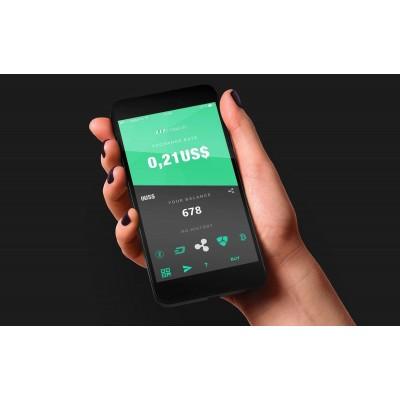 آموزش خرید رمزارز بیتکوین از صرافی Indacoin در تلفن همراه